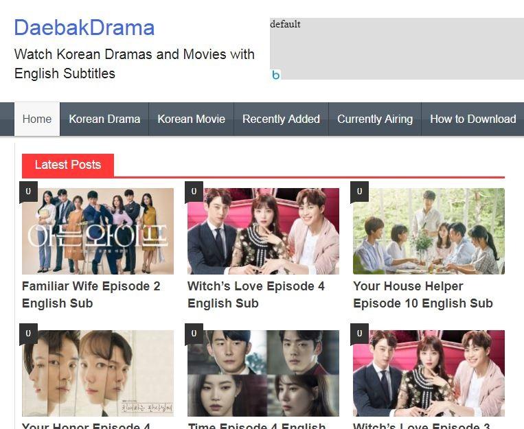 How To Watch Korean Dramas for free - DAEBAKDRAMA