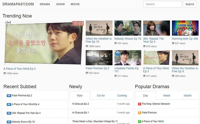 How To Watch Korean Dramas for free - DRAMAFAST