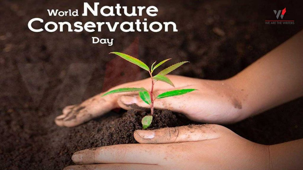 World Nature Conservation Day - Holidays in July 2021