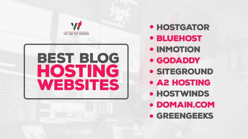 Best Blog Hosting Websites