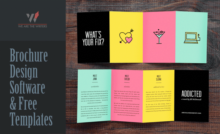 Brochure Design | Software and Template