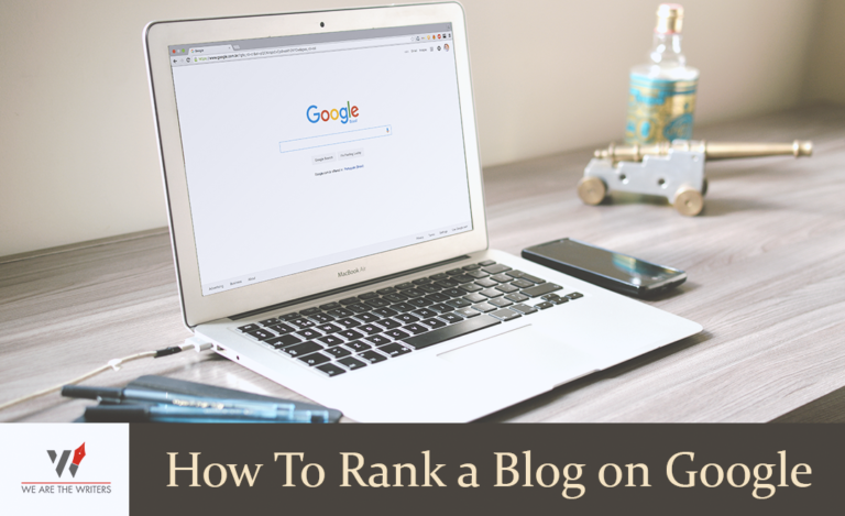 How to rank a blog on google