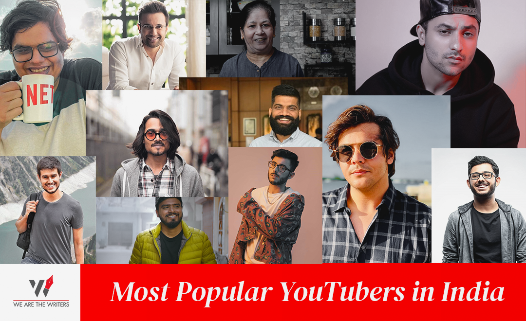 Top YouTubers in India | Famous YouTubers in India