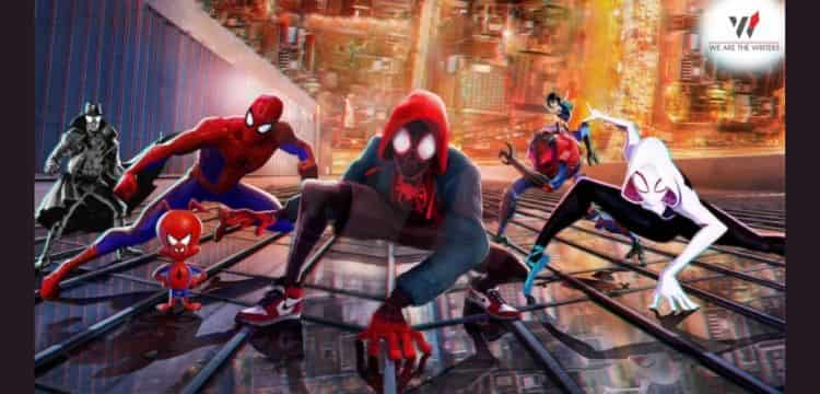 Spiderman Into the Spider-Verse- Marvel animated movies