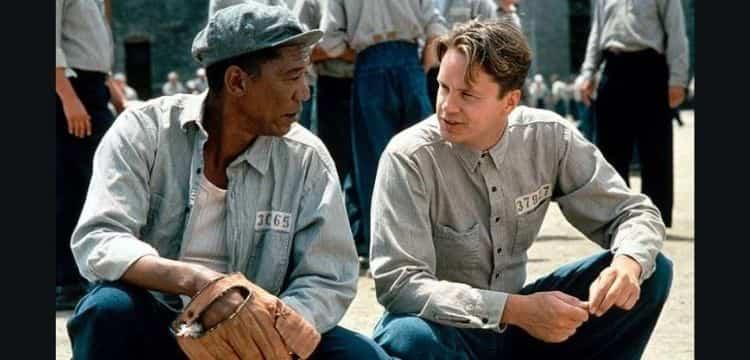 Still from Shawshank Redemption
