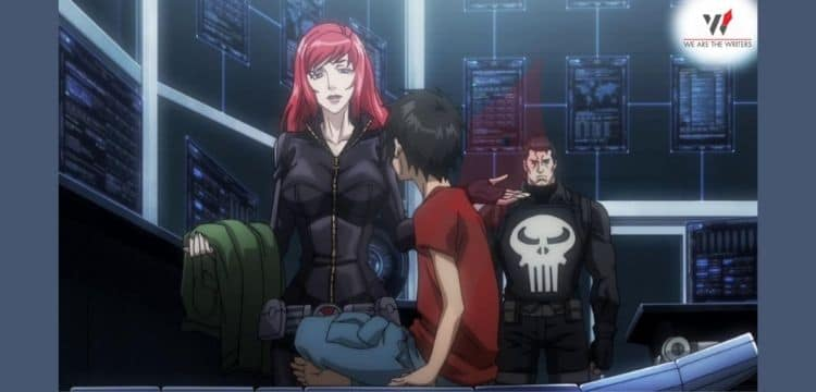 Avengers Confidential: Black Widow & Punisher- best Marvel animated movies