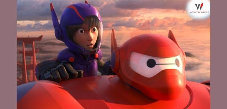 Big Hero 6- Marvel animated movies