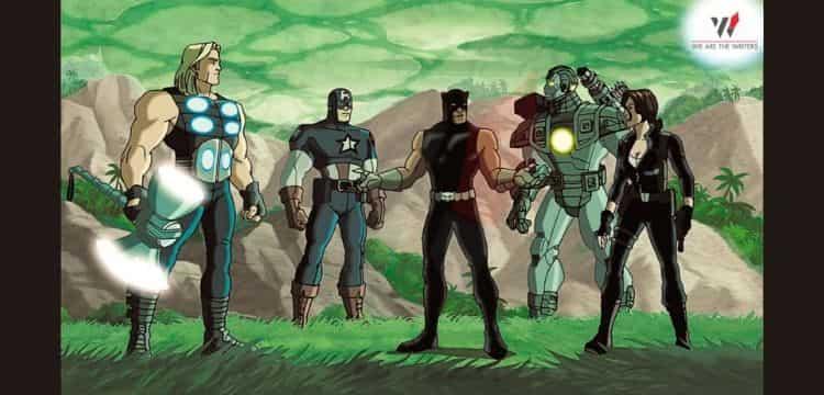 Ultimate Avengers II- Marvel movies
