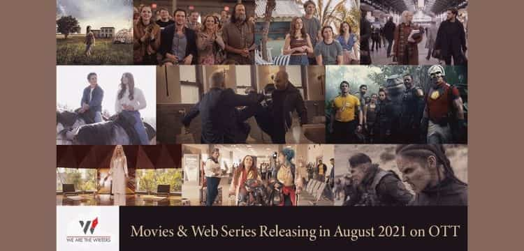 Web series and movies releasing on OTT in August2021