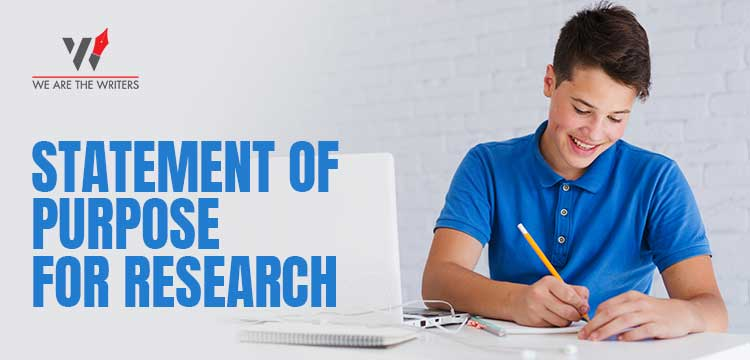 Statement of Purpose for Research