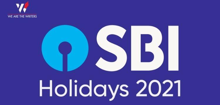 SBI Bank Holidays 2021