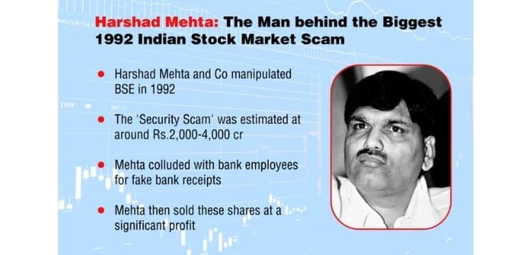 Indian Stock Market Scam 1992 by Harshad Mehta