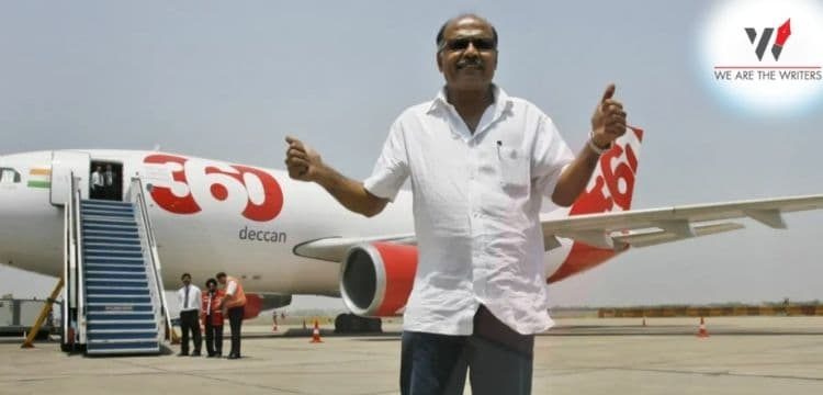 GR Gopinath with Air Deccan