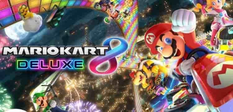 Best Racing Games: Mario Kart 8 Deluxe