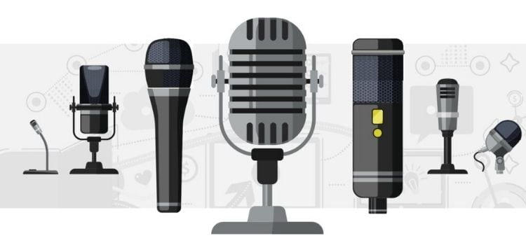 Different Mics for Podcasting