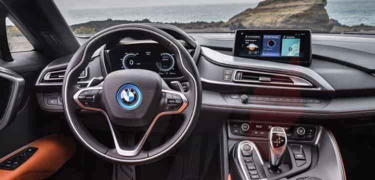 Stunning BMW i8 interiors