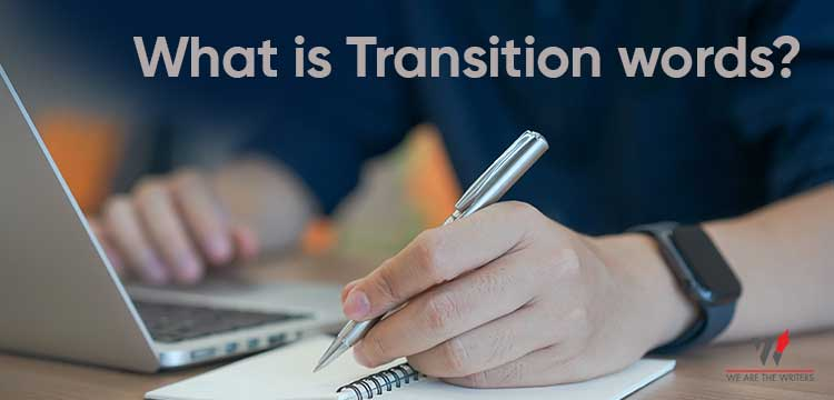 What is transition words